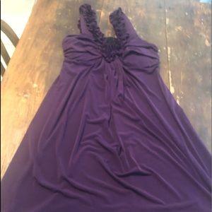 👗 3 for $25  EUC Purple semi formal dress